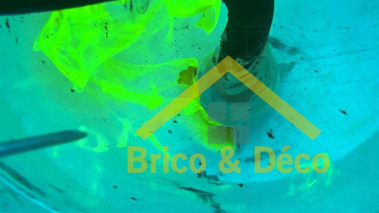 Détection de fuite d'eau avec colorant